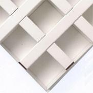 Потолок Грильято GL-15 50х50 белый Албес