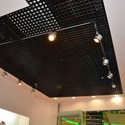 Потолок Грильято GL-15 86х86 черный Албес