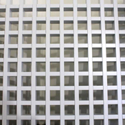 Потолок Грильято GL-24 100х100 металлик Албес