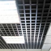 Потолок Грильято GL-24 120х120 черный Албес