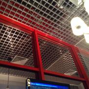 Потолок Грильято стандартный 120х120 металлик Албес