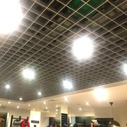 Потолок Грильято стандартный 150х150 металлик Албес