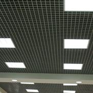 Потолок Грильято стандартный 75х75 металлик Албес