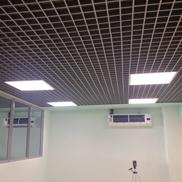 Потолок Грильято стандартный 86х86 металлик Албес