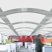 Потолок - фрагмент Metal Canopy Armstrong