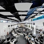 Потолок - фрагмент Optima Canopy Armstrong