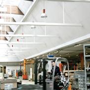 Потолок Industry Modus TAL Ecophon
