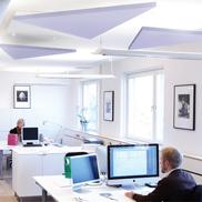 Потолок - фрагмент Solo Ecophon