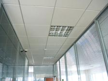 Алюминиевые кассетные потолки