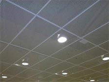 Потолки из ПВС (просечно-вытяжной сетки)