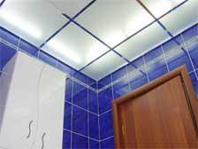Стеклянные потолки в ванной