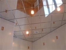 Зеркальные потолки подвесные